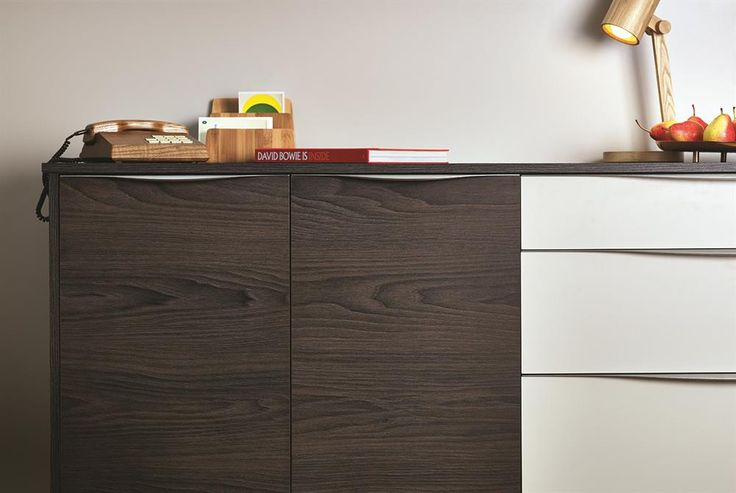 Contrasting EGGER decors helping to make striking bedroom furniture