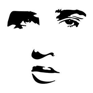 Stencils Famous Faces