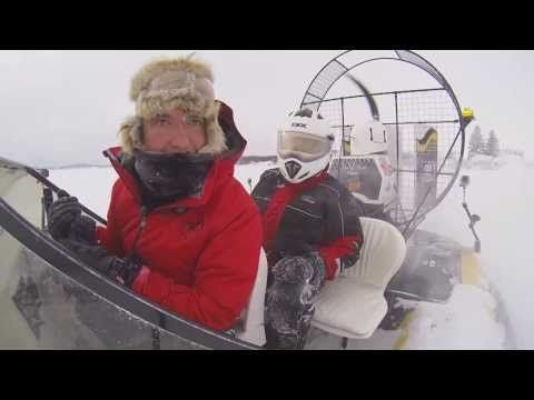 RMR: Rick Drives a Hovercraft in Parry Sound, Winter 2014.