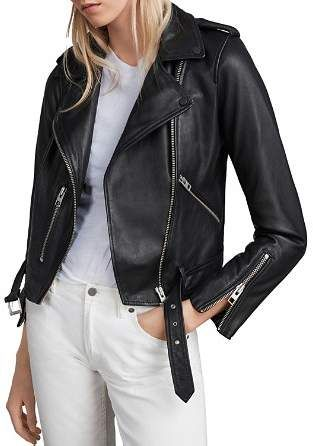 1f148f929 AllSaints Balfern Leather Biker Jacket | Style Love | All saints ...