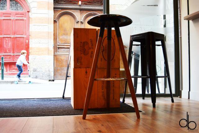 Numero 5 Wine Bar Toulouse Design Tasting degustation vins Interior design