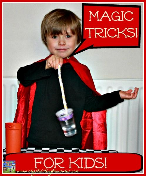 Magic Tricks For Kids - Crystal's Tiny Treasures