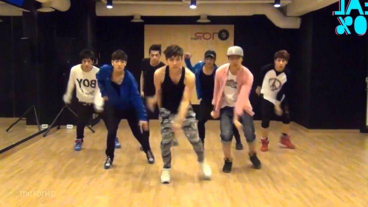100% 'Want U Back' mirrored Dance Practice
