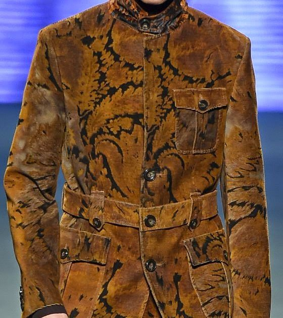 patternprints journal: PRINTS, PATTERNS AND TEXTILE SURFACES FROM MILAN CATWALKS (MENSWEAR F/W 2015/16) / Etro