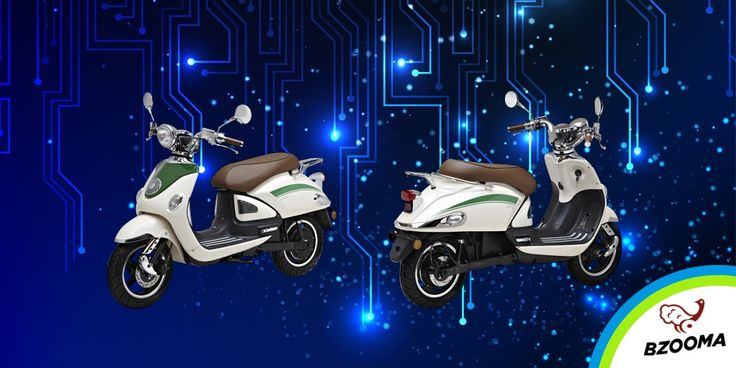 Bzooma 'Tino' takes the scooter concept to a higher level with its simple, cheap and whisper-quiet electric operation.