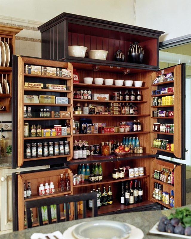Mutfaklara özel kiler dolabı tasarımı.  #dekorasyon #mutfak