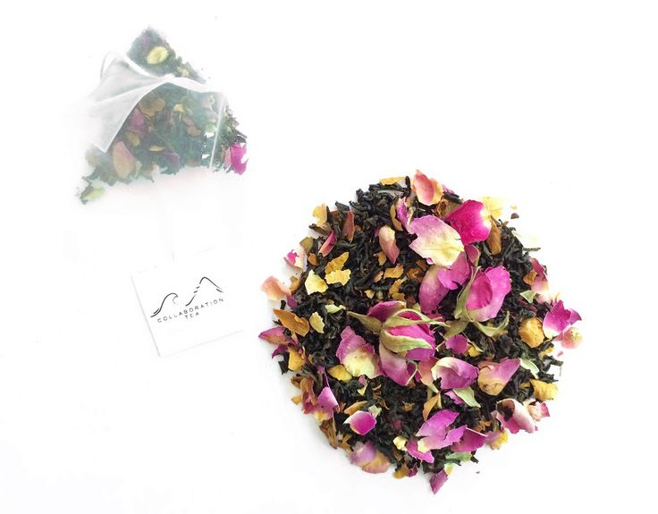 A hint of rose - Premium Earl Grey with French Rose Petals