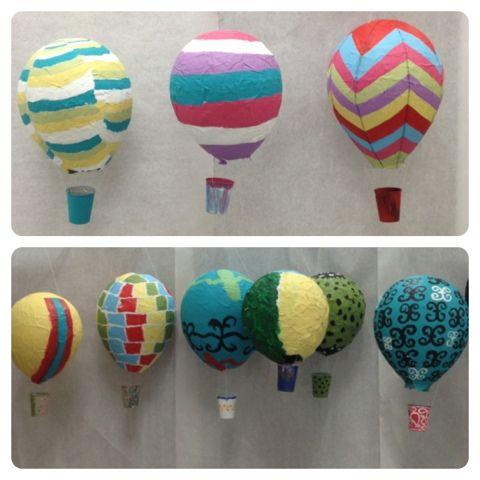Papier-mâché Hot Air Balloons | The Museum School