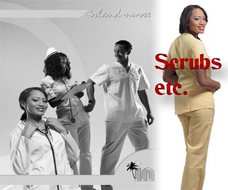 Island Nurse medical supply store in Jamaica offers wide range of medical uniforms, chef uniforms, scrub uniforms, medical accessories, buy nurse shoes.