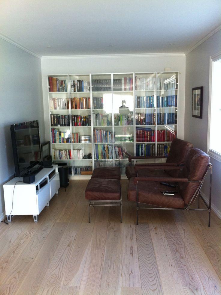 Bøker som fondvegg