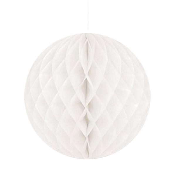 WHITE HONEYCOMB TISSUE BALL - Shop Sweet Lulu