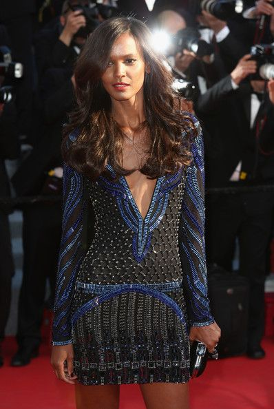 Liya Kebede - 'Mr. Turner' Premieres at Cannes