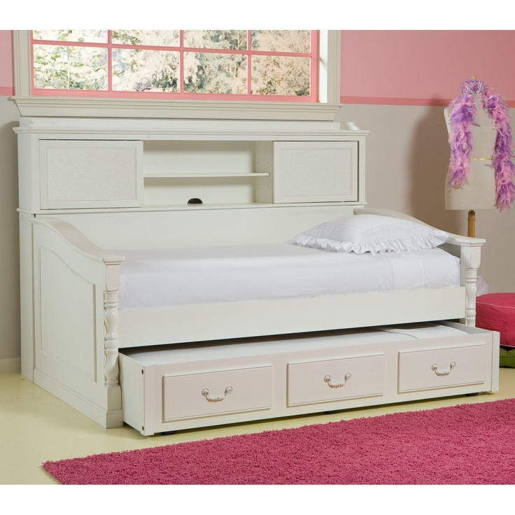 Olivia Bookcase Daybed Trundle Beds at Trundle Beds