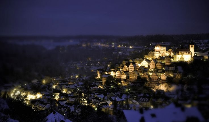 Altensteig-Germany, where I spent my jumior yeaqr in high school. I will never forget! I will return.
