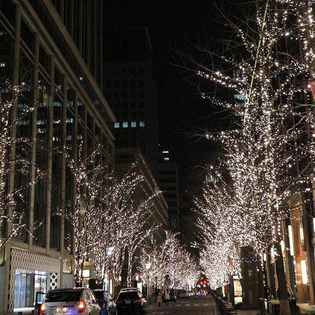 Instagram【4zu3】さんの写真をピンしています。 《👟1月3日の夜の散歩④ レンズを向けたら、どこもかしこもキラリンコ✨もう、そこは別世界✨✨そして仲通りから、クネクネ丸の内エリアを歩く。 私は別のものにも目を向ける。それは、ビル。夜のビルって、なんて素敵なんでしょ♪窓ガラスに光の反射。あと、ビルとビルの間から、他の建物がこんにちわとか。丸の内はそんなビルだらけ。やっぱりこのエリア、ヤバいわ。 そして気づいたら、仲通りに戻ってきた。あ、そーいや、キラリンコの世界に感動し過ぎて、普通バージョンをちゃんと撮っていなかったわ。明日に続く。 @丸の内仲通り #散歩#東京#丸の内の巻#正月の思い出②#夜景#イルミネーション#並木#ビル #nofilter#canon#eosm10#my_eosm10#photo_shorttrip#retrip_news #普通バージョンだって十分綺麗だけれど#キラリンコばかりみていたら#何だか大人しく見える#左下の出入口がドット壁のビル#気になるなぁ》