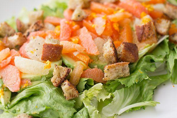 Citrus & Avocado Salad: Food Recipes, Avocado Salads, Herbs Buttermilk, Citrus, Buttermilk Croutons, Tomatoes Tarts, Buttermilk Herbs, Herbs Croutons, Tarts Recipes
