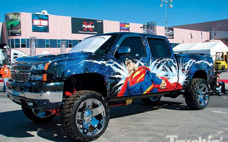 Superman Car Accessories: Custom Paint Jobs Superman Photo 3