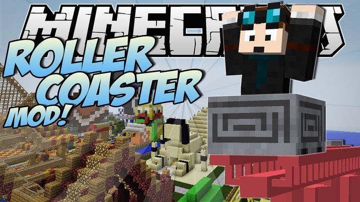 Minecraft | ROLLERCOASTER MOD! (Become a Rollercoaster Tycoon!) | Mod Sh...