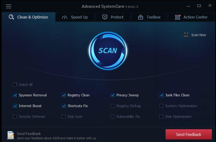 Sử dụng 6 tháng miễn phí advanced systemcare pro