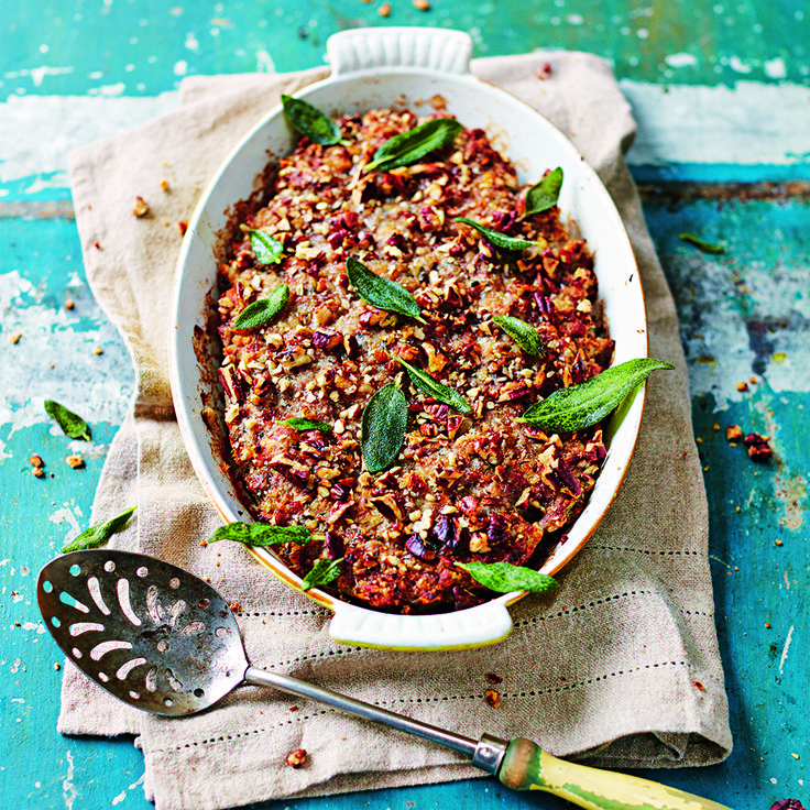 This Pork & Pecan Stuffing really delivers on delicious flavours! It's the perfect addition to your Christmas turkey or ham!