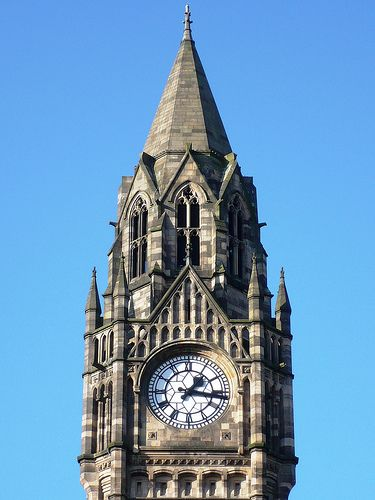 Rochdale Town Hall - Clock Tower
