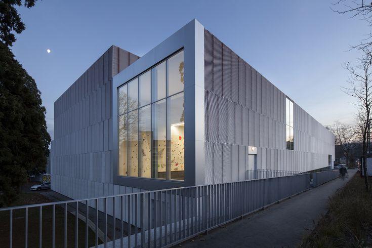 Galería de Gimnasio Jean Gachet / LINK - Chazalon Glairoux Lafond - architectes associés - 4