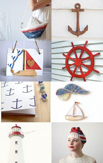 Nautical by Francesca Vicario on Etsy--Pinned with TreasuryPin.com
