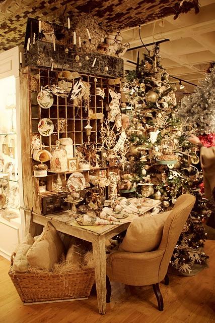 Christmas Shop Display
