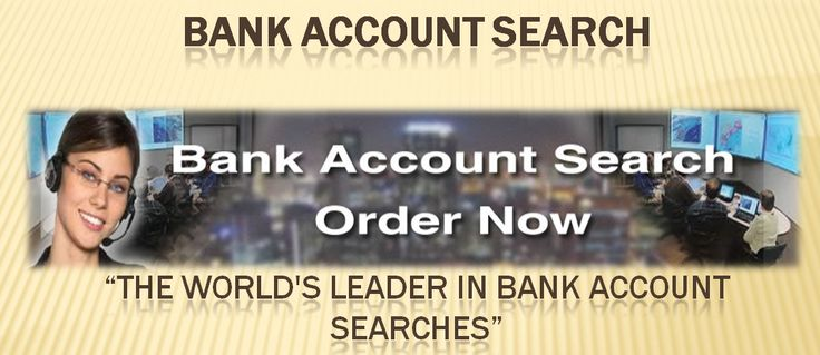 Professional bank account search by SSN for legal needs in all over the world with NATIONWIDE #asset searches, including United State.