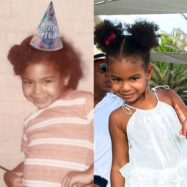 This Photo Is Definitive Proof That Blue Ivy Is a Mirror Image of Beyoncé | E! Online