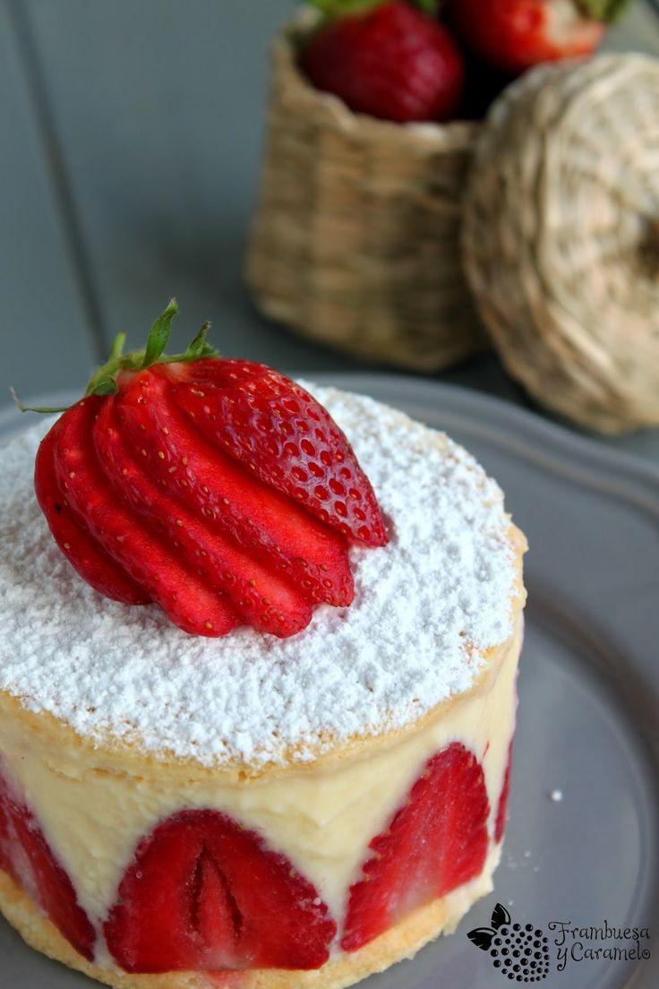 tarta fraisier