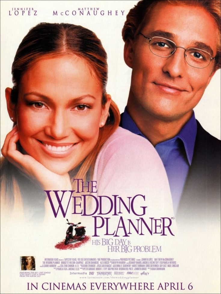 The Wedding Planner (2001) I love this movie. I'll admit