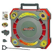 Beyblades Metal Masters Mobile Beystadium Carry Case with Exclusive Rock Zurafa Top by Hasbro. $49.95. For ages: 4 and up. Stores more than 50 tops. Exclusine Rock Zurafa Battle. Beyblades Metal Masters. Mobile Beystadium Beyblade Stadium CarryCase. Battle it out anytime and anywhere with this Mobile Beystadium arena! Set it up in just a few steps and prepare to take on any competition in moments. The pocketless design keeps the tops action moving and battles raging ...