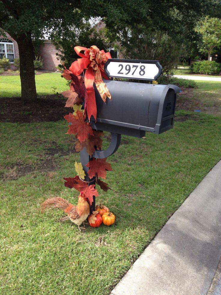Best 25+ Mailbox decorating ideas on Pinterest | Fall mailbox ...