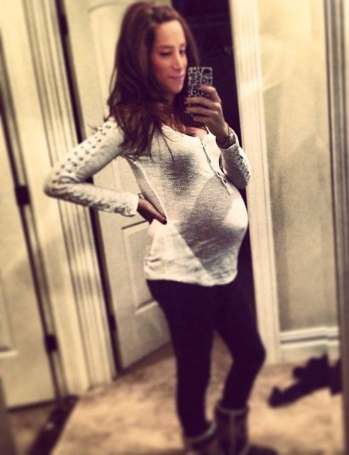 Danielle Jonas IS ABOUT TO POP! - http://oceanup.com/2014/01/21/danielle-jonas-is-about-to-pop/