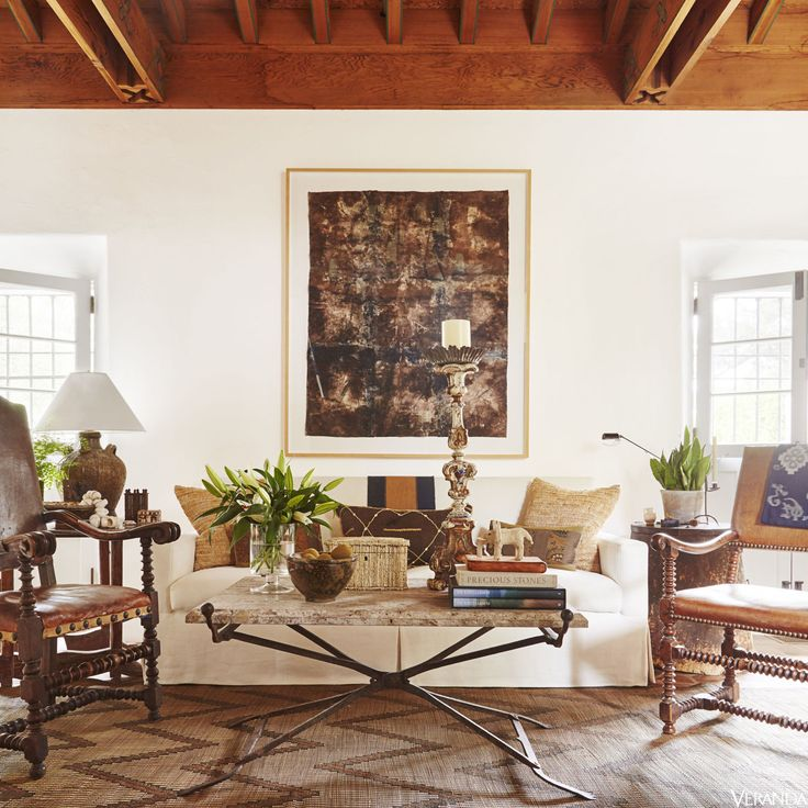 HOUSE TOUR A Sun Kissed Retreat Inspired By Spanish History Living Room