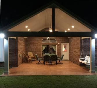 Houston Builder Designs Custom Patio Covers To Match Your Home. Call For  Estimate.