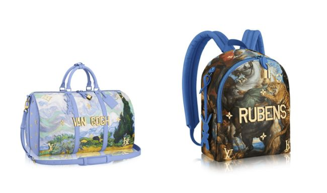 Colección capsula Jeff Koons para Louis Vuitton