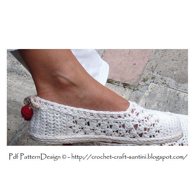 Como transformar chinelos de crochê em sapatos de rua!