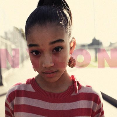 Amandla Stenberg in March 2012 NYLON