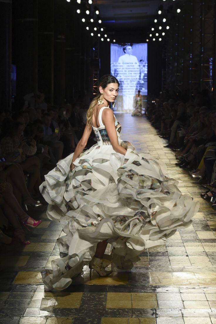 Silvia Tcherassi SS2017 Ruffle summer gown