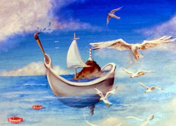 "The Art of Lefteris Skaliotis: Nautical stories"""