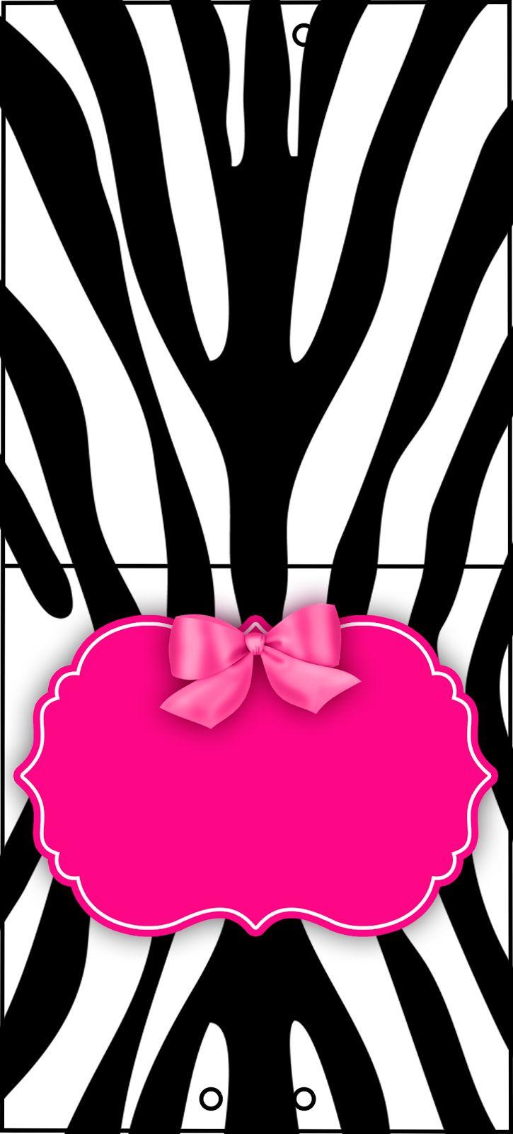 Montando Minha Festa Zebra Rosa E Preto Zebra E Rosa