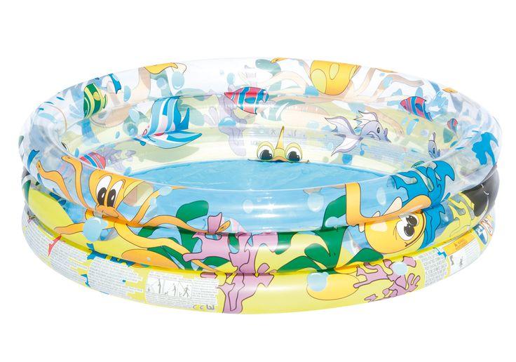 """Bestway 51009 Planschbecken """"Ocean Life"""", 122 x 25 cm   PLANSCHBECKEN   POOLS & SPA   FREIZEIT   Kajak Kanu Elektromotor bei BeachandPool.de online kaufen"""