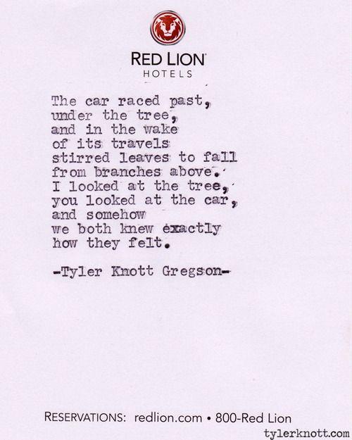 Typewriter Series #189 by Tyler Knott Gregson