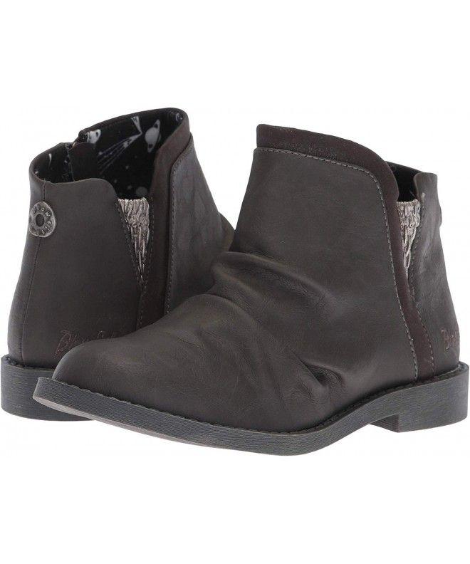 Bottes de randonnée Kewler K pour enfants avec fermeture éclair à la cheville pour filles – Gris San Antonio Pu – CH180NDCR2 …   – Girl's Shoes Online