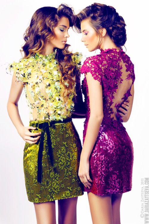 ZsaZsa Bellagio...colorful dresses