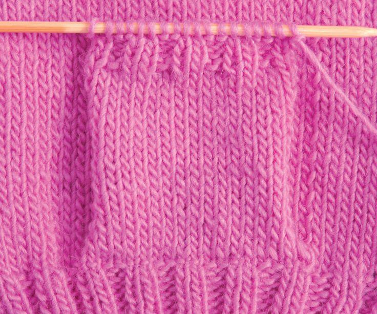 Como fazer bolsos em tricô