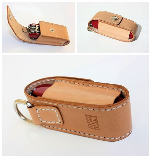 Penknife case made to order by SIGN https://www.facebook.com/sign.onleather/photos/a.593211127406318.1073741828.587702061290558/789558817771547/?type=1&theater