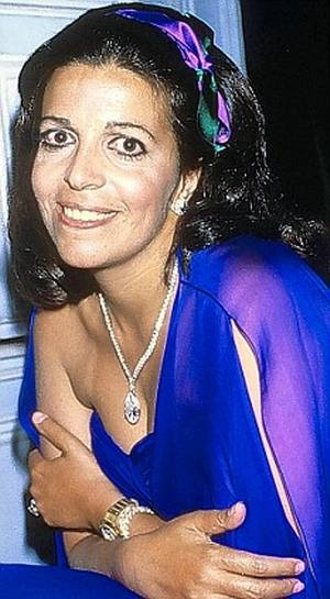 Diamonds are supposed to be forever.  But not if you're Athina Onassis, who yesterday sold a flawless 38-carat diamond that belonged to her heiress mother Christina for £3,625,000 at auction.  The pear-shaped, colourless Christina Onassis Diamond, which is the centrepiece of a pendant necklace, was bought for twice its estimated value by an anonymous phone bidder.  Athina, 23, sold 44 of her mother's jewels for £6.8million, nearly three times the £2.5million estimate.